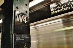 Attraction touristique de 4ème de station voyage mobile occidental de train photos libres de droits