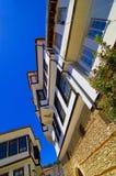Attraction touristique de vieille ville d'Ohrid Photographie stock libre de droits