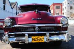 Attraction touristique et patrimoine culturel dans Havanna : oldtimer cubain images stock