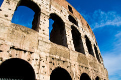 Attraction touristique italienne de Colosseum Images libres de droits