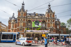Attractions in Amsterdam - The City Theater at Leidse Square - AMSTERDAM - THE NETHERLANDS - JULY 20, 2017 Stock Images