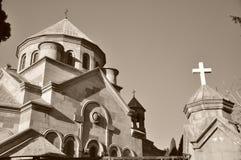 Attractions arméniennes d'église de la Crimée Yalta Photos libres de droits