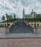 Attractions of Belarus, Polotsk and Vitebsk Royalty Free Stock Photos