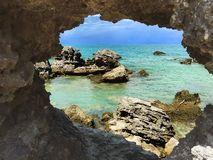 Attractions in Bermuda. In all the beautiful and unique nature stock photo