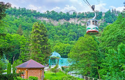 Attractions in Borjomi Stock Photography