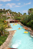 Attractions de l'eau dans le waterpark du Siam Photo libre de droits