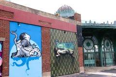 Attractions de parc d'Asbury Image libre de droits