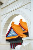 Attractions de Taïwan Taïpeh, Chiang Kai-shek Memorial Hall, Chiang Kai-shek Memorial Hall, place de liberté, photographie stock libre de droits