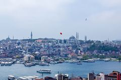Attractions in Istanbul stock photos