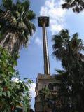 Attractions in park Port Aventura Spain Stock Photos