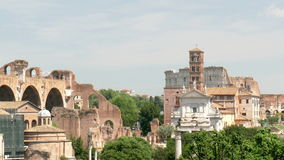 Attractions Rome stock video