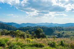 Attractions in Thailand Mon Cham, Chiang Mai, Thailand - Tourist Royalty Free Stock Photo
