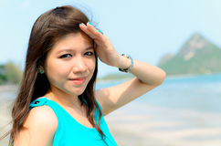 Attractiv ASian woman Stock Images