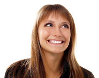 Attractiv emocional de la muchacha adolescente Imagen de archivo libre de regalías