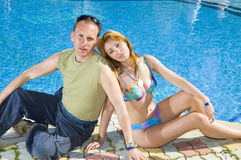 Attractive �ouple has a rest Stock Photo