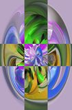 Attractive abstraction and design. Graphic arts and art Royalty Free Stock Photography