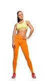 Attractive Aerobics fitness woman posing Royalty Free Stock Photo
