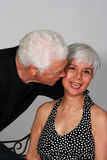Attractive and affectionate mature couple Royalty Free Stock Photography