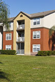 Attractive affordable housing. Attractive safe apartment house stock photos