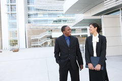 Attractive African American Business Team Stock Photos