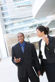 Attractive African American Business Team Royalty Free Stock Photos
