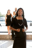 Attractive African American Business Woman stock images