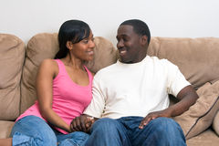 Attractive African american couple Royalty Free Stock Image