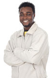 Attractive african businessman Stock Image