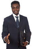 Attractive african businessman Royalty Free Stock Photography