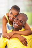 Attractive african couple Royalty Free Stock Photos