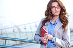 Attractive  Agent Woman Stock Images