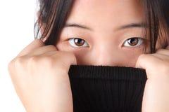Attractive Aisian woman Stock Photos