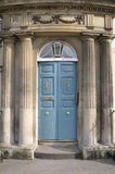 Attractive Arched Doorway. Doorway of a London Town House in the Palladian Architectural Style Stock Photography