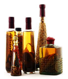 Attractive arrangement decanters Stock Photo