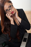 Attractive asian american businesswoman Stock Image