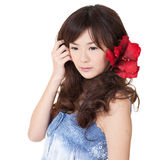 Attractive Asian beauty Stock Photography