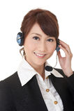 Attractive Asian business secretary Royalty Free Stock Photo