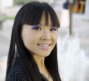 Attractive Asian Business woman Stock Photo