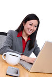 Attractive Asian Business Woman Royalty Free Stock Photos