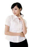 Attractive Asian business woman Stock Photos