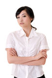Attractive Asian business woman Royalty Free Stock Image