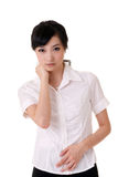 Attractive Asian business woman Stock Photography