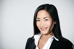 Attractive Asian businesswoman Royalty Free Stock Images