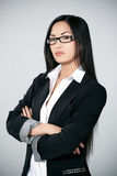 Attractive Asian businesswoman Royalty Free Stock Photography