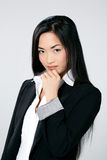 Attractive Asian businesswoman Stock Photography
