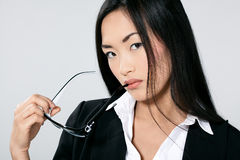 Attractive Asian businesswoman Royalty Free Stock Photo