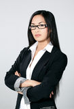 Attractive Asian businesswoman Royalty Free Stock Image