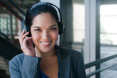 Attractive asian businesswoman Royalty Free Stock Photos