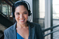 Attractive asian businesswoman Stock Images