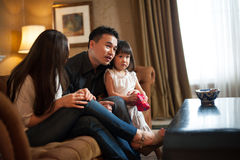 Attractive Asian Family 2 Royalty Free Stock Images